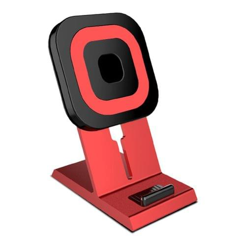 Qi Standard Desktop Wireless Charger Multi-Function Charging Stand Holder Car Mount 10W Fast Charge for iPhone 8/iPhone 8 Plus/iPhone X & Samsung Galaxy Note 8/S8/S8+ and Other Qi-enabled Smartphones