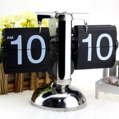 Small Scale Table Clock Retro Flip Over Clock