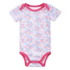 Baby Rompe Bodysuit 100% Cotton Short Sleeve Unisex Newborn Baby Clothing 0-3Month