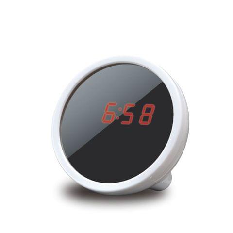 Digital Alarm Clock Makeup Mirror