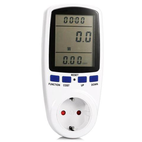 Power Meter Measuring Current Voltage Analyzer Detector Energy Test Meter Socket
