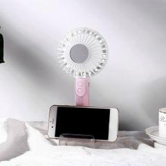 USBRechargeable LED Fan with Mobile Phone Stand