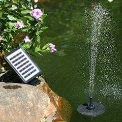 Solar Power Floating Fountain 7V 1.5W Solar Panel