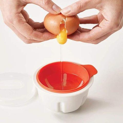 Steamed Egg Bowl Egg Poacher Cook Poach Pods Tools Microwave Oven Baking Cup