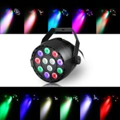 20W 12 LEDs Dream RGBW DMX512 Par Stage Light with IR Remote Controller