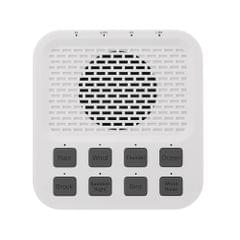 Sleeping Helper Wireless Bluetooth 4.0 Speaker Sound Machine with 8 Natural White Noise 3.5mm Earphone Port for Babies Students Snorers Office Workers Aged People