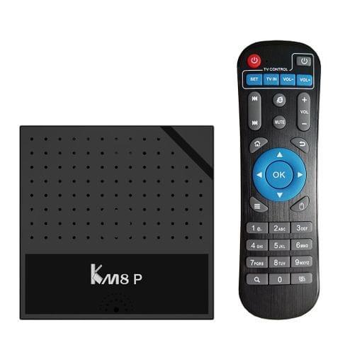 KM8P Smart Android 7.1 TV Box S912 1G+8G EU Plug