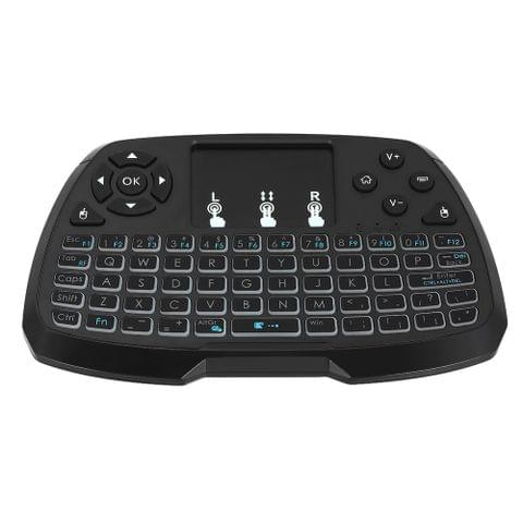 2.4GHz Wireless QWERTY Keyboard Touchpad Mouse Handheld Remote Control