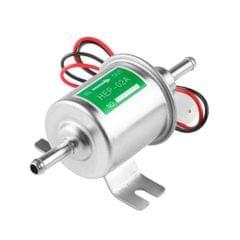Electric Fuel Pump 12V 24V Inline Petrol Gas Diesel HEP-02A Low Pressure