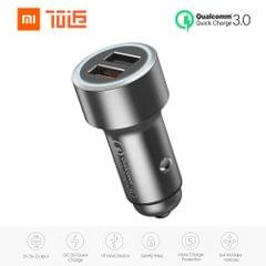 70mai Car Charger Quick Charge Metal 2 USB Ports Charger