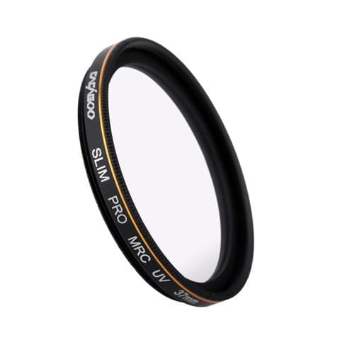 CACAGOO 37mm Pro HD Super Slim MRC UV Filter Optical Glass Waterproof Na150 Multi-Coated for Ca150n Nikon S150y Pentax DSLR Camera