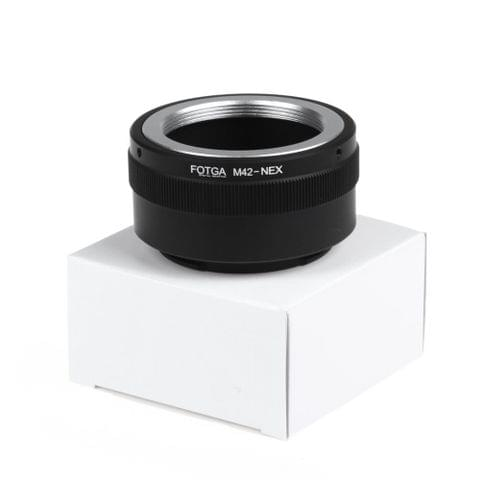 Fotga M42 Adapter Ring for Sony NEX E-mount NEX NEX3 NEX5n NEX5t A7 A6000