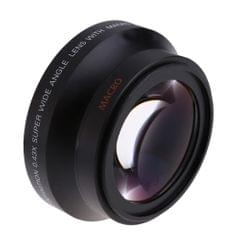 67mm Digital High Definition 0.43×SuPer Wide Angle Lens With Macro Japan Optics for Ca150n Rebel T5i T4i T3i 18-135mm 17-85mm and Nikon 18-105 70-300VR