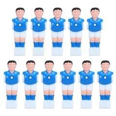 11Pcs Table Football Machine Doll 15.8mm Caliber Table Games Soccer Mini Doll Athlete Foosball Player Part