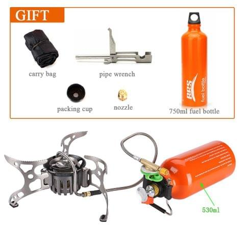 Portable Multi Fuel Outdoor Camping Gas Stove