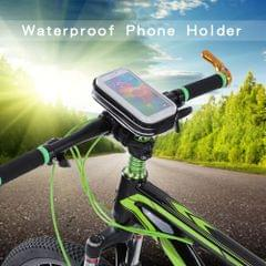 "Lixada Rainproof Motorcycle Bike Bicycle Handlebar Mount Holder Case for 4"" Cell Phones"