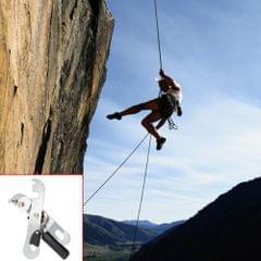 Lixada Self-braking Stop Descender for Single Rope Rock Climbing Caving Rigging Rescue