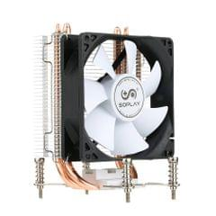SOPLAY CPU Cooler 2 Heatpipes 3pin 9.2cm Fan PC Computer for AMD Socket 754 939 940 FX All Series CPU Cooling Radiator Fan