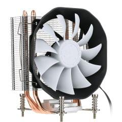 SOPLAY CPU Cooler 3 Heatpipes 4pin 12cm PWM Fan PC Computer for AMD CPU Cooling Radiator Fan