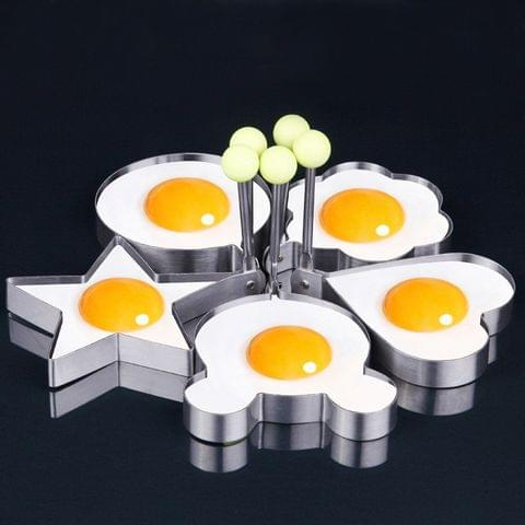 Egg Molds / Pan Cake Molds – 5 different shapes