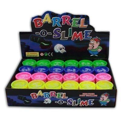 Crazy Sutra Barrel-O-Slime Slimey Kids Toy Slime Putty (24 pcs Box)