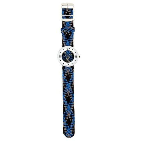 STRIPES Mothers Day Special Big Dial Fabric Watch for Women/Girls