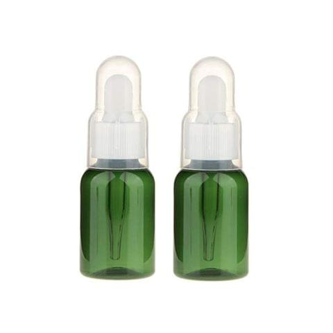 2Pcs 35Ml Empty Dropper Bottle With Pipette Essential Oil Sample Bot