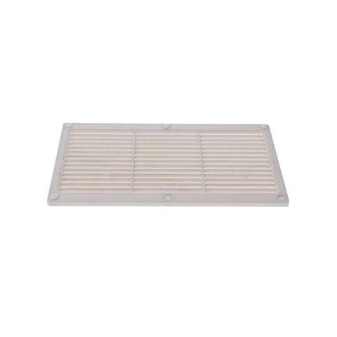 Auto Replacement Car RV Trailer Motorhome Range Stove Hood AC Cupboard Vent 295x170x5mm - as described, White
