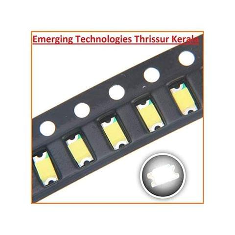 EMERGING 100pcs 1206 SMD LED GREEN Diode Super Bright Lighting Bulb Lamps Electronics Components LEDs with Small Surface Mount Chip Colour - GREEN