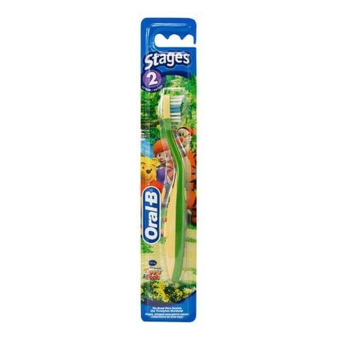 فرشاة أسنان أورال بي مرحلة 2 (2-4 سنوات) فرشاة أسنان للأطفال
