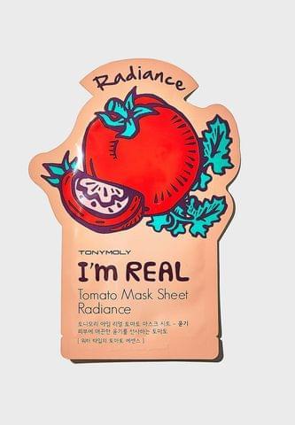 آم ريل قناع بالطماطم حبتين