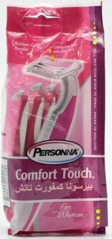 شفرات حلاقة قابلة لإعادة الاستخدام للنساء - 10 شفرات