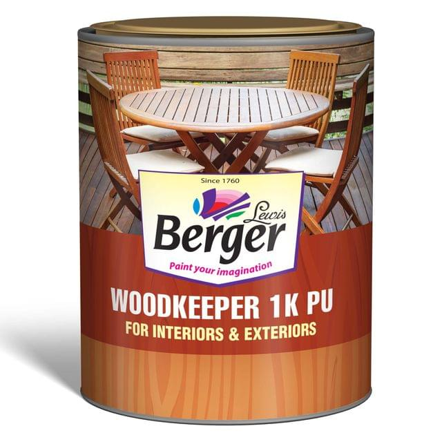 WoodKeeper 1K PU Interior and Exterior Clear Gloss