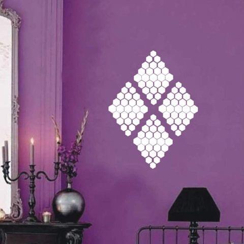 Berger Paints Silk Designzz Beehive Stencil 7.87 x 7.87 inches