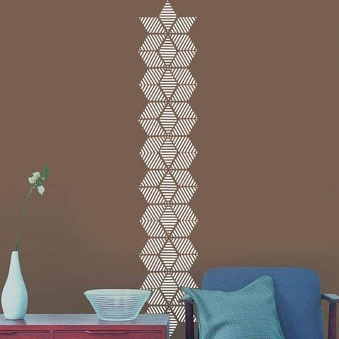 Berger Silk Designzz Origami Stencil 7.87 x 7.87 inches