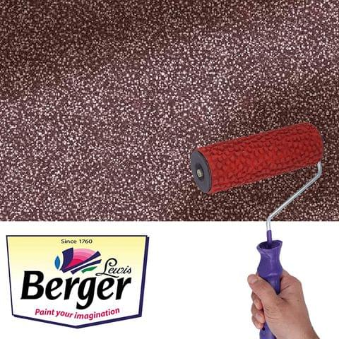 Berger Paints Silk Illusion Tool Nova Texture Roller for Wall Designs (7 inches)