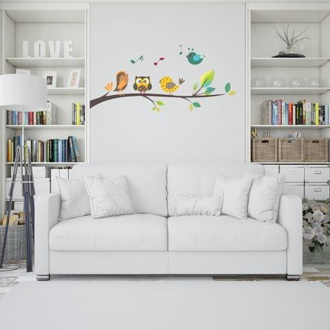 "DIY Wall Stickers Singing Birds for Home Décor (24""X12"")"