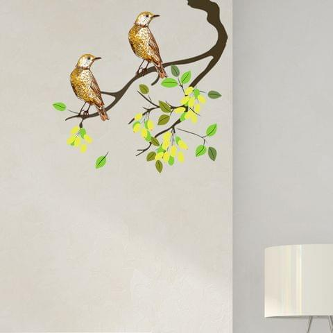 "DIY Wall Stickers Two Birds for Home Décor (18""X18"")"