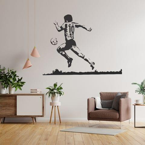 "DIY Wall Stickers Maradona for Home Décor (36""X24"")"