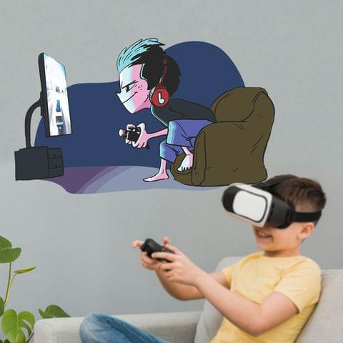"""DIY Wall Stickers Boy Videogame for Home Décor (24""""X18"""")"""