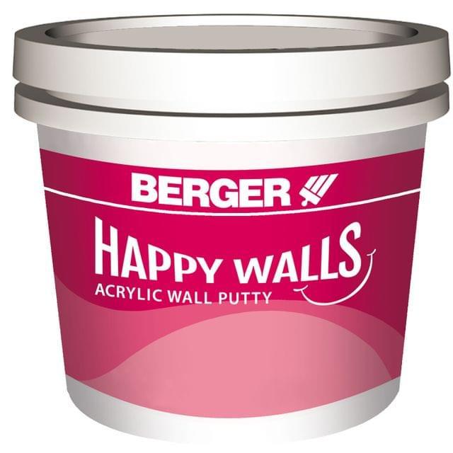 Happy Wall Acrylic Putty - 10 Kg