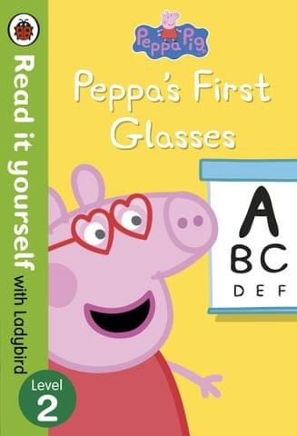 PEPPA PIG PEPPAS FIRST GLASSES READ IT YOURSELF WITH LADYBIRD LEVEL 2
