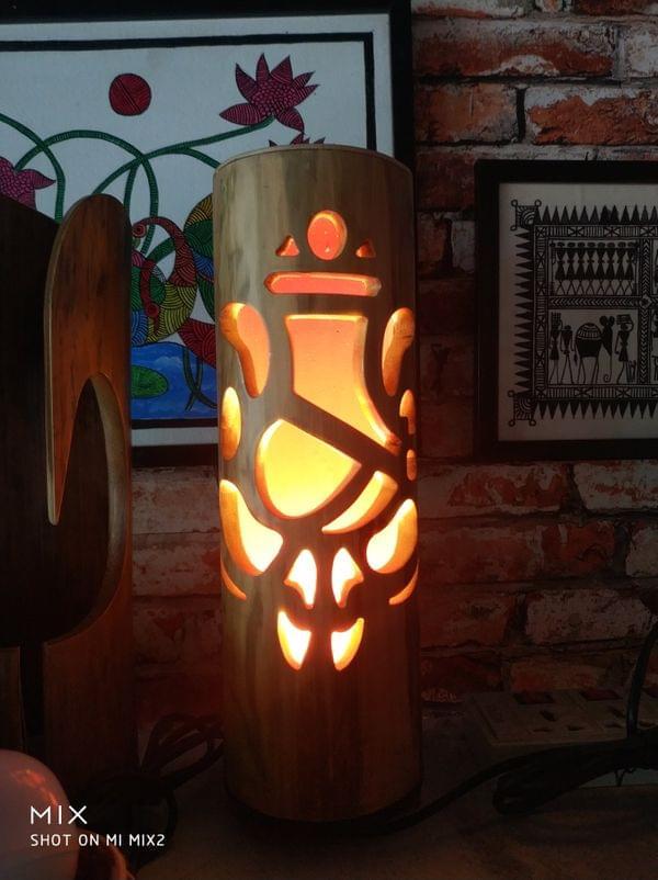 Ganesh Bamboo Lamps