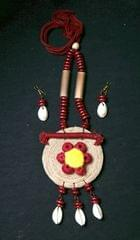 Jute & Thread Necklace & Earring