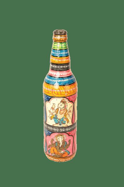 Pattachita Painting on Glass Bottle (Large)