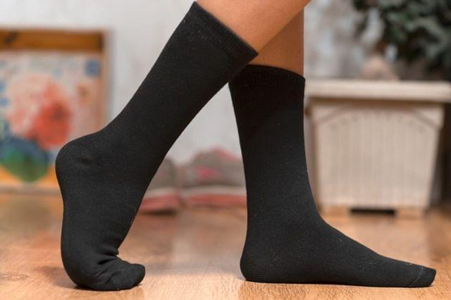 Bamboo Calf Socks  Breathable, Anti Odor, Soft Formal Socks