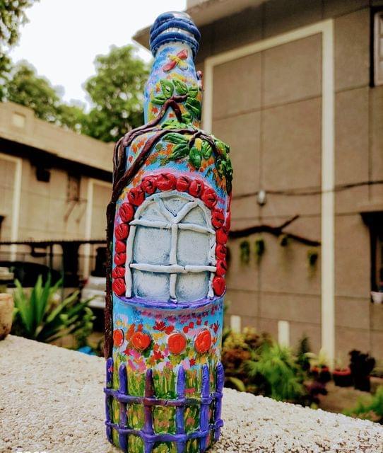 Fairy tower bottle