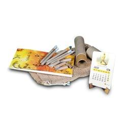 Plantable 2020 Calendar Kit (Plantable Notepad, Plantable Pens and Plantable Calendar in a Jute bag)