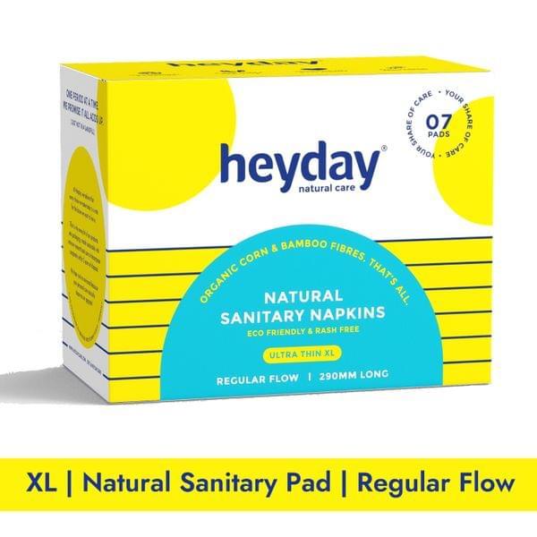 Natural & Organic Ultra Thin Sanitary Napkins (7 Pads)