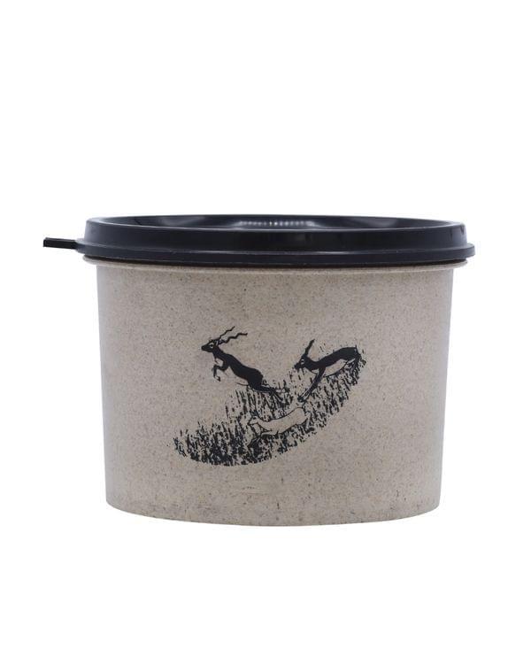 Rice Husk Lid Bowl 550 ml